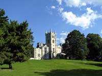 Click to enlarge photo of Lyndhurst from rear grounds.